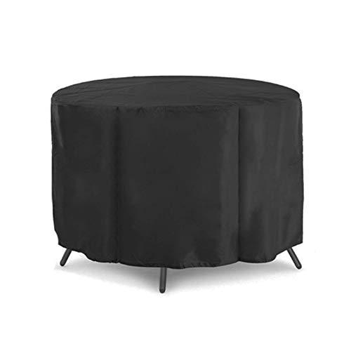 YZ-YUAN Fundas para Muebles de jardín a Prueba de Agua 239X58cm, Fundas para Muebles de Patio Impermeables al Aire Libre, Fundas para sillas y mesas de Patio Redondas, Lluvia, Nieve, Polvo, a Prueba
