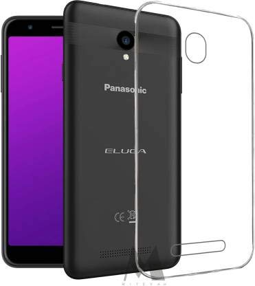 Kushu® Exclusive Soft Silicone TPU Jelly Crystal Clear Case Soft Transparent Back Case Cover for Panasonic Eluga I6