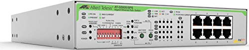 Allied Telesis 8X UNMANAGED POE+Switch