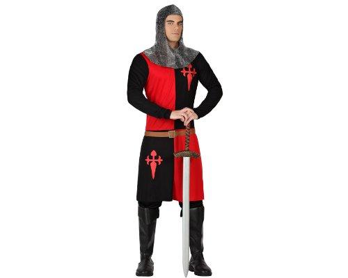 Atosa 18321 - Costume per Travestimento da Cavaliere, Uomo, XL