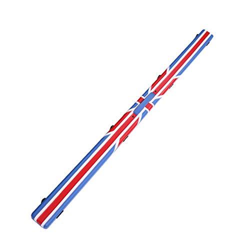 LCRACK Caso Stecca, Portatile Britannico Biliardo Stecca da Biliardo Difficile Cue Astuccio Custodie Portastecche (Colore : B)