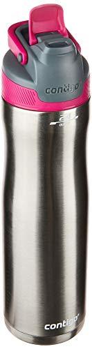 Garrafa Térmica Inox Autoseal Chill, Contigo, Rosa, 710ML