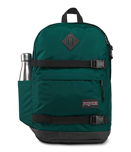 JanSport West Break - Mochila para portátil de 15 pulgadas, resistente bolsa escolar, pino místico