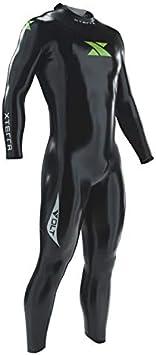 Xterra Wetsuits - Men's Volt Triathlon Wetsuit - Full Body Neoprene Wet Suit (3mm Thickness) (Medium) | Designed for Open Water Swimming - Ironman & USAT Approved