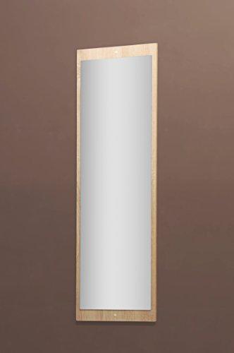 Möbeldesign Team 2000 5077-11 - Spiegel od. Garderobenspiegel, in Sonoma Eiche sägerau, 112 x 36 cm