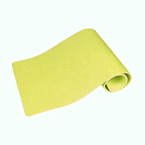 N\C Estera de Yoga EVA de 12 mm de Espesor, Estera de Fitness de Alta Densidad, Estera de Ejercicio antidesgarro de Espuma de Alta Elasticidad es Suave.173CMX61 y 183CMX61 Dos tamaños