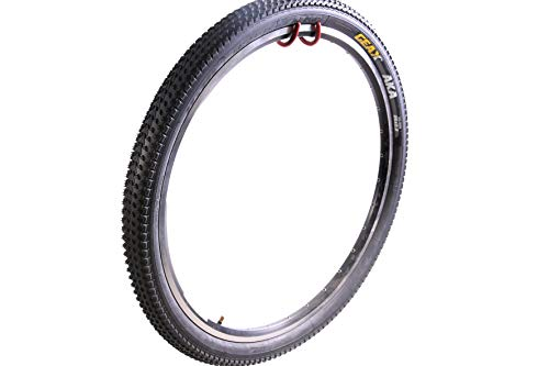 VITTORIA GEAX AKA MTB MOUNTAIN BIKE RACE TYRE 26 x 2.2 (56-559) WIRE BEAD BLOCK TREAD PROVEN IN PRO SLOPESTYLE EVENTS (Two Tyres)