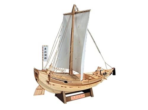 ウッディジョー 1/72 菱垣廻船 ひがきかいせん 木製帆船模型 組立キット