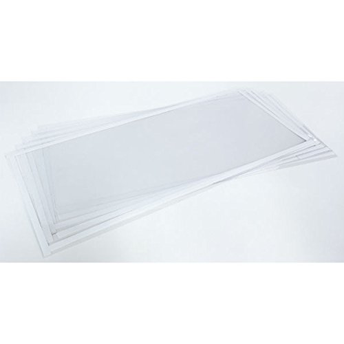 Eastwood 5 Pack 5-20 in. X 10 1/2 in. Window Liners Replacement Abrasive Media Blast Cabinet