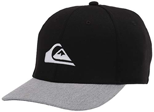 Quiksilver Boys' Big Pinpoint Youth HAT, Black, 1SZ
