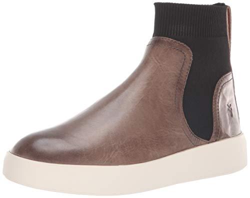 FRYE Women's BREA Chelsea Sneaker, Stone, 11 M US