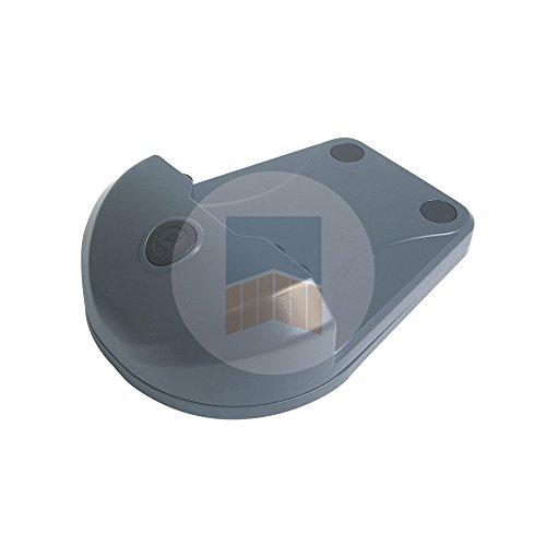 Sabot Prestige en Aluminium pour portail motorisé. - Gris 7016, Sans