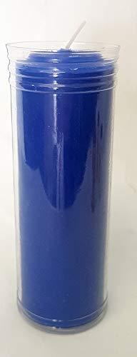 CERAGI Velón Pedir un Deseo, esotérico Color Azul 16,5 x 6 cm