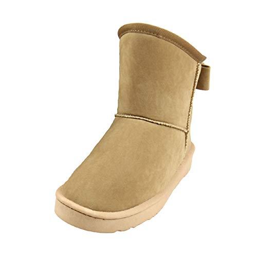 GBZLFH Botas de nieve unisex, zapatos calefacción eléctrica doble propósito, zapatos para caminar calefacción aire libre invierno cosidos mano calefacción segura,Caqui,28CM (39/40 code)