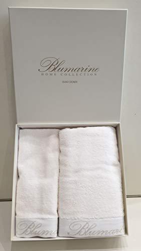 Blumarine Home Collection Coppia asciugamani 1+1 Spa (Avorio)