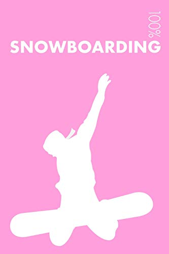 Womens Snowboarding Notebook: Blank Lined Womens Snowboarding Journal For Female Snowboarder and Coach