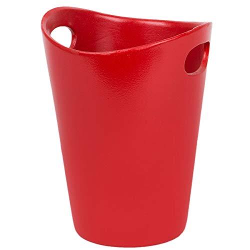 myBoxshop Pot de fleurs en céramique - 2 litres - Pot à orchidée - Pot à fleurs à deux anses