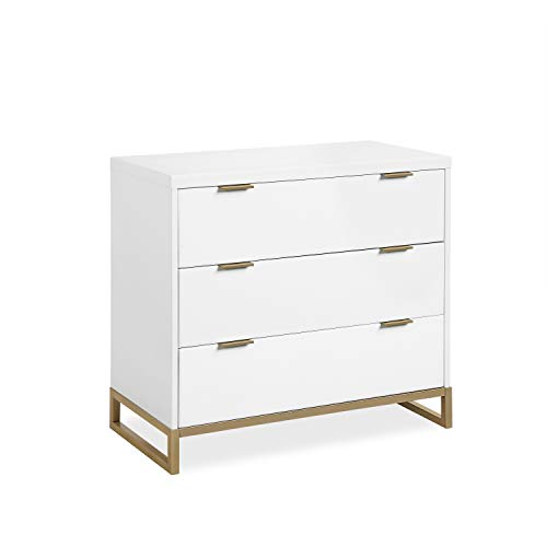 Great Deal! Baby Relax Juniper 3-Drawer Dresser, White