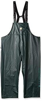 Carhartt Men s Lightweight Waterproof Rainstorm Bib Overalls Canopy Green Medium