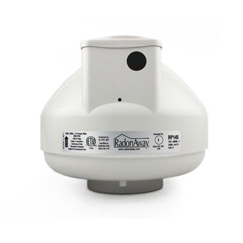 RadonAway RP145c Radon Fan P/N 23030-1 Inlet/outlet Diameter of 4.5