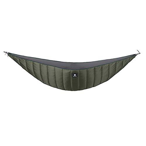 Sous-couverture pour hamac OneTigris - Design léger et longueur complète - Pour le camping, la randonnée en sac à dos, mixte, CE-DSD01, OD Green - 2-3 Season, Unfolded Size: 2.4m x 1.2m/ 7.9'x 4'
