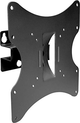 SCHWAIGER LWH030 011 TV-Wandhalterung für Flachbildschirme mit 58-107 cm (23-42 Zoll), Halterung für LED 4K OLED, Schwenkbar mit 1 Gelenk, max. Belastung 30 kg, schwarz