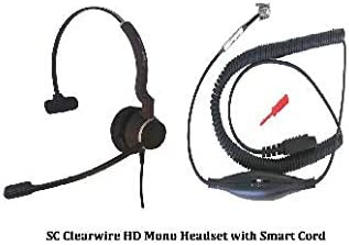 discount SC Clearwire QD Mono Headset online sale with wholesale GN QD Universal Coiled Smart Cord for Connecting Headset & Telephone sale