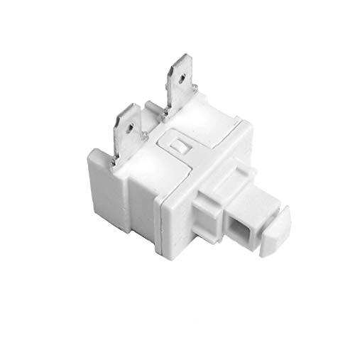 Interruptor de aspiradora 16 A 250 V AC, 2 posiciones de repuesto OFF-ON para PS-5-114, L51HB, SXL5