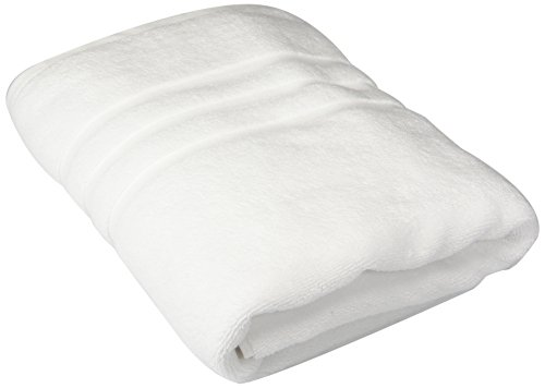 "Chortex Irvington Luxury Bath Towel (3 Pack), 30"" x 54"", White"