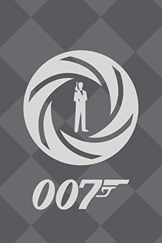 007: 120 page notebook/notepad/journal/diary perfect gift idea for bond enthusiasts | A5 | 6x9 inches