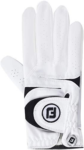 Footjoy WEATHERSOF Damen Golfhandschuh Linkshand (M, Weiß)