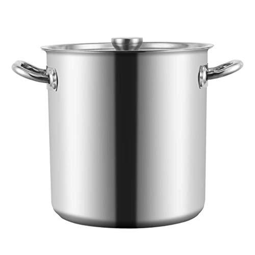MUMUMI Pentole, Grande in Acciaio Inox in Acciaio Inossidabile in Acciaio Inox, Acciaio Inox Stock in Acciaio Inox Pot Home Brew Pot Pot Pot,40 * 42 Cm.