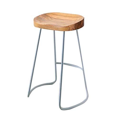 LXESWM eetkamerstoel barkruk hoge kruk ontbijt eetkruk ronde stoel houten keuken kruk aanrecht