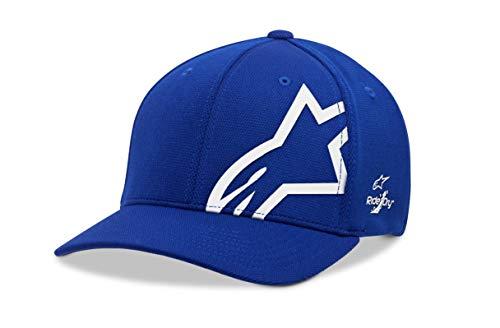 Alpinestars flexfit Casquette Homme Bleu (Corp Shift Sonic Tech Hat Royal Blue/White) L/XL