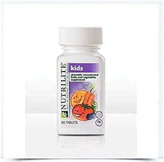NUTRILITE® Kids Chewable Concentrated Fruits and Vegetables - 60 Count