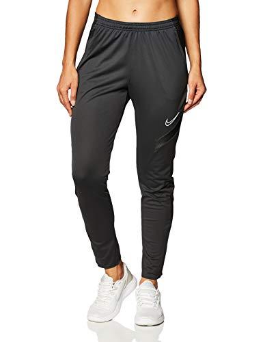 NIKE Academy Pro Knit Pant - Pantalones de chándal para Mujer, Mujer, Pantalones Deportivos, BV6934-010, Gris/Negro/Blanco, Extra-Small