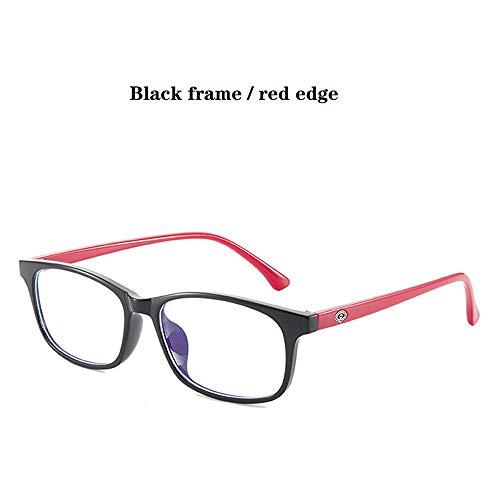 WWDKF blauwe lichtblokkerende bril TR unisex bril voor PS4 gaming computer telefoons, effectief tegen UV400, absorberende high-energy blauw licht om vermoeidheid van de ogen te voorkomen
