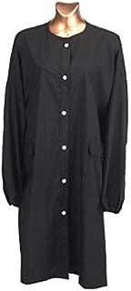 KareCo Button Down Beauty Client Gown (Black)