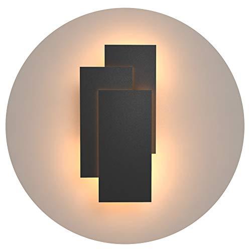 Klighten Aplique de pared Lámpara Moderno LED 24W Lámpara
