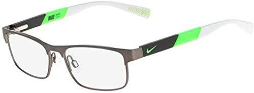 Nike 5574 069 50 Lunettes de soleil, Gris (Brushed Gunmetal/Flash Li), Homme