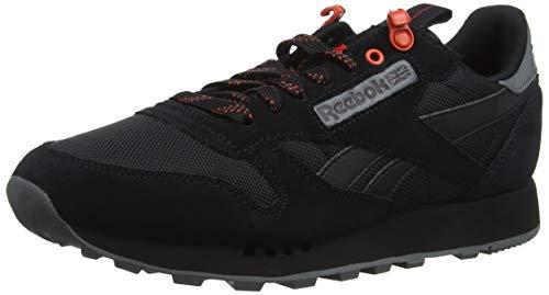 Reebok Cl R Explore, Unisex volwassenen gymnastiek, zwart (zwart/legering/caroteen zwart/legering/caroteen), 5.5 UK (38.5 EU)