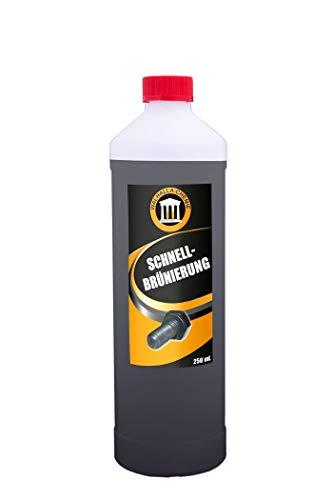 Schnellbrünierung (1000 mL) - Kaltbrünierung Brünierung - Selber brünieren – Brüniermittel für Eisen & Stahl + Schwärzen von Zink