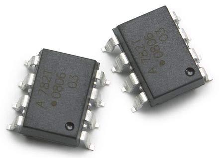 ACPL-782T-300E-Trennverstärker, Kfz-Anwendungen, 1 Verstärker, 2 mV, 3.75 kV, 4.5V bis 5.5V, DIP, 8 Pin(s)
