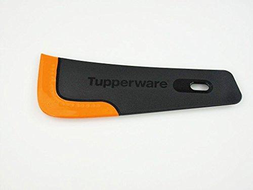 TUPPERWARE Griffbereit Handlanger schwarz-orangeTop-Schaber Teig-Schaber Schaber 8931