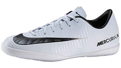 Nike Unisex-Kinder Mercurial X Vapor XI CR7 Indoor Fußballschuhe, Weiß Teinte Bleue Blanc Teinte Bleue Noir, 28.5 EU