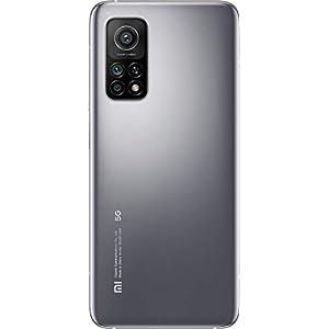 "Xiaomi Mi 10T (Pantalla 6.67"" Fhd+ Dotdisplay, 6Gb+128Gb, Cámara de 64Mp, Snapdragon 865 5G, 5.000Mah Comcarga 33W) Plata Lunar [Versión Española]"