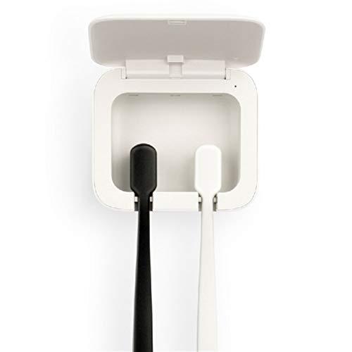 HOUHOU Brosse À Dents Holder Smart Sensor Cleaner Hygiène Bucco-Dentaire for Les Dents De Soins Personnels USB Perforation Mur Libre Mounted Salle De Bains Fournitures Support de Brosse