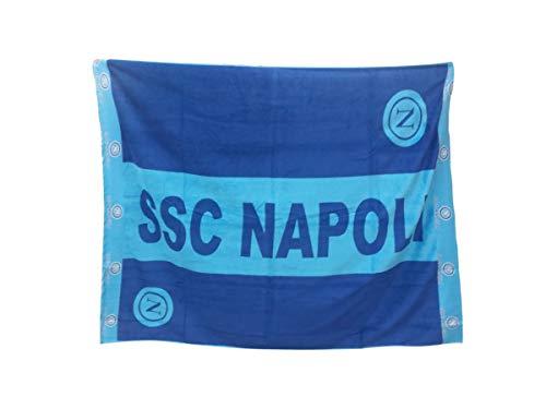 Napoli SSC - Toalla de playa o piscina Maxi 140 x 170 cm, producto oficial