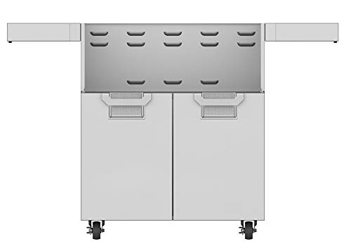 Read About Aspire By Hestan Double Door Tower Cart For 30-Inch Gas Grills - Steeletto - ECD30-SS