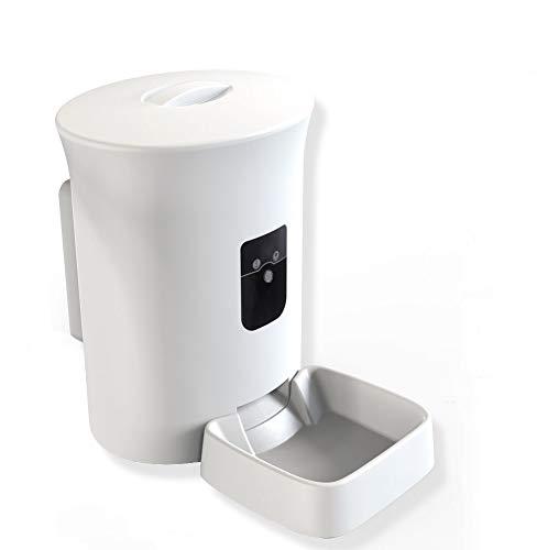 MOXNICE Automatischer Futterautomat Futterspender mit Timer- 8L Futternapf Automat mit Timer und akustischer Benachrichtigung - für Hund und Katze (Reguläre Version)